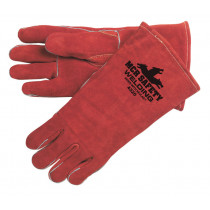 MCR Safety - Gloves, Welders Brown Select Leather Sew
