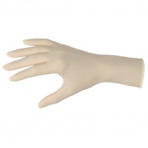 Memphis 5060 SensaGuard™ Economy Grade Disposable Gloves -  M -  Latex Palm -  Natural White -  Powdered Latex