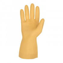 Memphis 5180E Industrial Grade Unsupported Chemical Resistant Gloves 12 per BA -  M -  Latex Palm -  Amber -  Latex