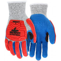 UltraTech™ Coated Knit Gloves, HyperMax™ Shell, Impact Level 1