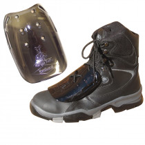 Impacto® METGUARD™ METGUARD Metatarsal Protector -  Universal -  For Use With All Safety Shoes and Boots -  Polycarbonate