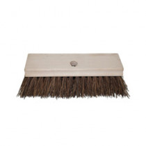 Magnolia Brush Hand Scrub Brush With A-48 Handle -  8 in L x 2-1/2 in W Block -  8 in OAL -  2 in Palmyra Trim