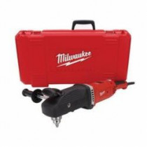 Milwaukee® SUPER HAWG™ 1680-21 Grounded Electric Drill Kit -  1/2 in Keyed Chuck -  643 in-lb Torque -  120 VAC (Kit)