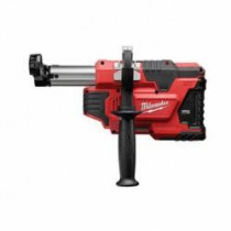 Milwaukee® Bare Tool Universal Dust Extractor -  SDS Plus Rotary Hammers -  For Use With M12™ HAMMERVAC™ (Bare Tool)
