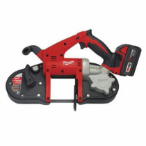 Milwaukee® M18™ Cordless Band Saw Kit -  3-1/4 in Cutting -  35-3/8 in L x 1/2 in W x 0.02 in THK Blade -  18 V -  3 Ah (Kit)