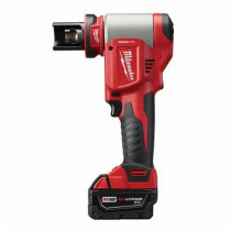 Milwaukee® M18™ FORCELOGIC™ High Capacity Knockout Tool Kit -  1/2 - 4 in Mild and Stainless Steel -  10 tons -  18 V (Kit)