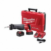 Milwaukee® M18 FUEL™ SAWZALL® Ergonomic Cordless Reciprocating Saw Kit -  1-1/8 in -  3000 spm -  Straight -  18 V (Kit)