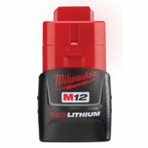 Milwaukee® M12™ Rechargeable Cordless Battery Pack -  1.5 Ah Li-Ion Battery -  12 V
