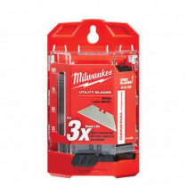 Milwaukee® 48-22-1900 General Purpose Utility Blade With Dispenser -  2-3/8 in L x 3/4 in W -  0.025 in THK
