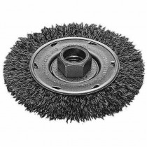 Milwaukee® 48-52-5070 Wheel Brush -  4 in Dia -  5/8-11 -  0.012 - 0.014 in Crimped Radial Wire