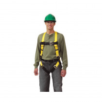Workman® 10072480 Harness -  XL -  400 lb -  Yellow -  Polyester Strap