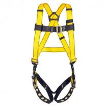 Workman® 10072492 Harness -  XL -  400 lb -  Yellow -  Polyester Strap