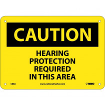 National Marker - Caut Hearing Protection Req InThis Area