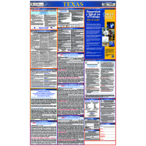 National Marker - Texas State Labor Law Poster Spanish