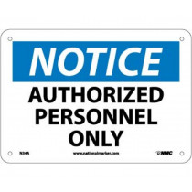 National Marker National Marker Company Notice Authorized Personnel Only