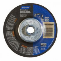 Norton® 66252843609 All Purpose Depressed Center Type 27/42 Cut-Off Wheel With Quick-Change Hub -  4-1/2 in Dia -  5/8-11
