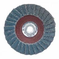 Norton® 66254419997 Contoured Type 29 Conical Coated Flap Disc -  4-1/2 in Dia -  5/8-11 -  80 Grit -  Medium Grade