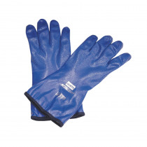 North® by Honeywell NK803IN-11 Supported Chemical Resistant Gloves 3 per BX -  SZ 11 -  Blue -  Nitrile