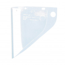 Fibre-Metal® by Honeywell 4199CL Extended View Faceshield Visor -  9-3/4 in H x 19 in W -  Clear -  Propionate