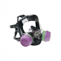 North® by Honeywell 760008AW Full Face Respirator With Speaking Diaphragm and Welding Attachment -  M/L -  Neoprene -  Black