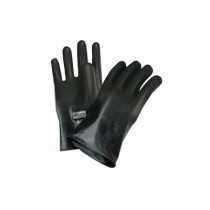 North® by Honeywell B131-8 Hand Specific Chemical Resistant Gloves 8 per MD -  SZ 8 -  Grip Saf Palm -  Black -  Curved Finger -  Butyl