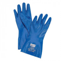 North® by Honeywell NK803-9 Supported Chemical Resistant Gloves -  SZ 9 -  Blue -  Nitrile