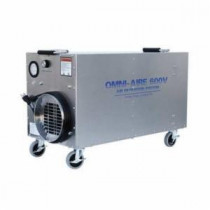 Omnitec OA600V Air Filtration Machine -  115 VAC -  HEPA Filter -  150 - 600 cfm -  30-1/2 in L x 14 in W x 18-1/2 in H
