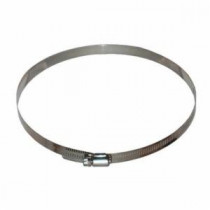 Omnitec QCW12 Quick Clamp -  8 - 12 in Dia -  For Use With MiniForce II -  1300V -  1000V HEPA Air Machines -  Stainless Steel