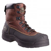 "Oliver by Honeywell 65394 6"" Leather Work Boots, Steel Toe, Lace-Up"