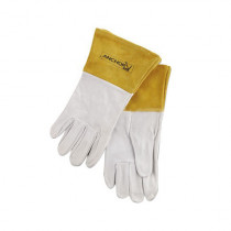Anchor™ 120TIG-L Welding Gloves -  L -  White -  Standard -  Straight Thumb -  Capeskin