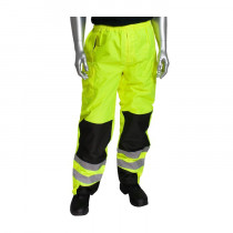 PIP® 318-1771 - Non-Breathable Ripstop Reinforced Hi-Visibility Overpant - 100% Polyester