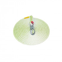 "3M™ Protecta® Lifeline, vertical, 5/8"" x 50 ft. nylon rope w/ AJ520A hook"