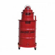 Pullman Ermator B001136 2-Stage Wet/Dry Drum Vacuum With Drum and Dolly -  2 hp -  11.1 A