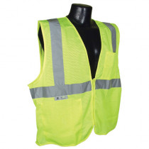 Radians® (SV59Z) Heavy Duty Surveyor Vest, Type R, Class 2, Zipper