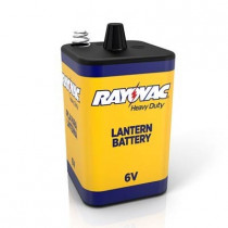 Spectrum Brands Rayovac® 944A Lantern Battery, 6-Volt Spring Terminals, Heavy Duty