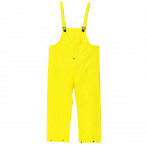 River City 300BP Unisex Waterproof Bib Overall With Fly -  56 in Waist x 32-1/2 in Inseam -  0.28 mm PVC/Nylon