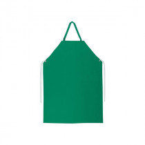 River City 368R5 Heavy Duty Work Apron -  Universal -  48 in L -  Green -  0.45 mm PVC/Polyester