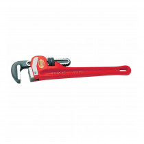 RIDGID® 31040 Heavy Duty Straight Pipe Wrench -  6 in Pipe -  Standard/Floating Hook Jaw -  48 in OAL