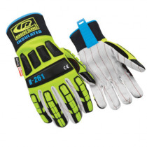 Glove -  Cotton Palm -  Impact -  Insulated -  9