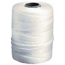 #18 X 500' Braided White Twine