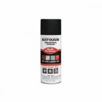 Industrial Choice® 1676830 Multi-Purpose Enamel Spray Paint -  12 oz -  Liquid -  Black -  12 - 15 sq-ft/Can