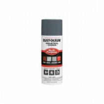 Industrial Choice® 1686830 Multi-Purpose Enamel Spray Paint -  12 oz -  Liquid -  Universal Gray -  12 - 15 sq-ft/Can