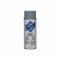 Rust-Oleum® 215409 Economical Spray Paint -  10 oz -  Liquid -  Light Gray -  5 - 8 sq-ft