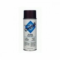 Rust-Oleum® V2411830 Economical Enamel Spray Paint -  16 oz -  Liquid -  Brown -  5 - 8 sq-ft