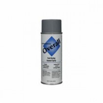 Rust-Oleum® V2413830 Economical Spray Paint -  10 oz -  Liquid -  Machinery Gray -  5 - 8 sq-ft