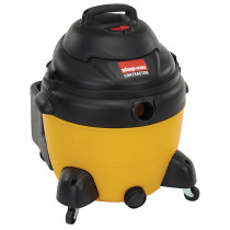 Shop-Vac® 9625210 Wet/Dry Vacuum -  16 gal -  6.25 hp -  11.8 A -  120 V -  Poly Pro