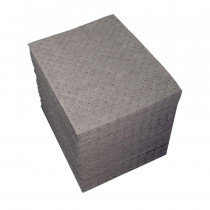 SPC® UXT100 Dimpled Heavy Weight Absorbent Pad -  19 in L x 15 in W -  19 gal/bale Absorption -  Polypropylene
