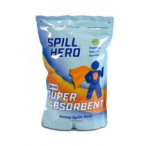 XSORB® Universal Spill Clean-Up Super Absorbent, 2 Liter Bag, 24/cs