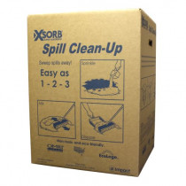 XSORB® Universal Spill Clean-Up Super Absorbent, 25 lb Box