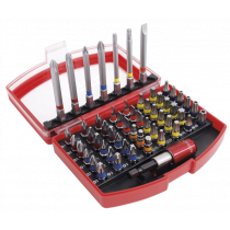 Urrea Screwdriver Bits and Drill Holder 55-Piece Set